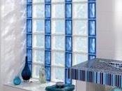 Bloques vidrio para tener Baño iluminado