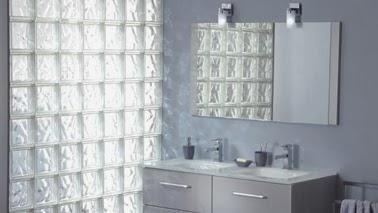 Bloques de vidrio para tener un ba o iluminado paperblog - Bloques de vidrio para bano ...