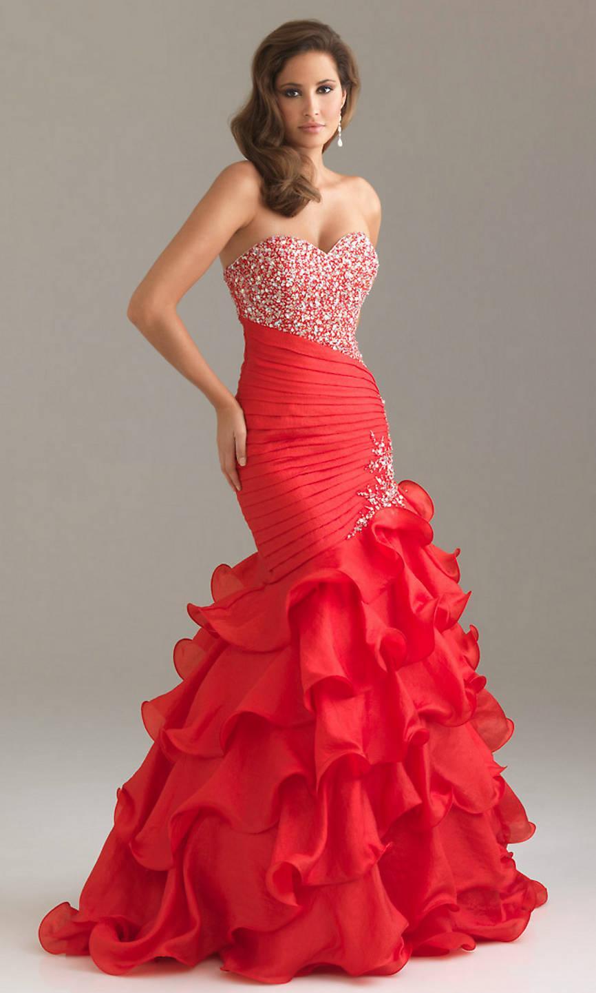 673f90a7908f Vestidos de fiesta rojo - Tarjetas amor y amistad