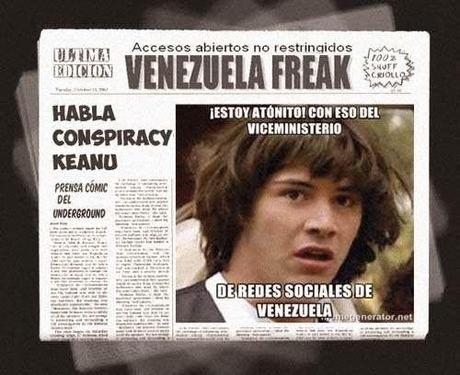 Portada press comic - Viceministerio Redes Sociales de Venezuela