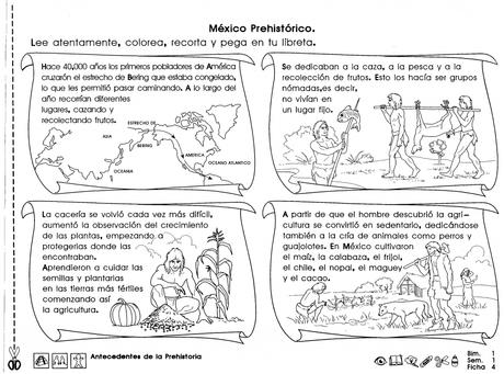 """Prehistoria de México """"4to grado"""" - Paperblog"""