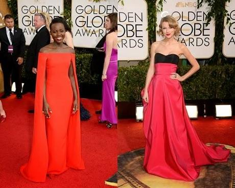 Red Carpet Globos de Oro 2014