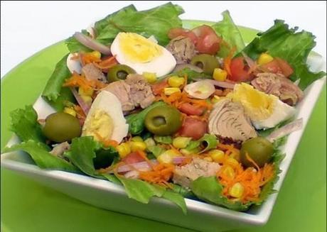 ensaladas verdes sencillas - photo #18