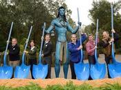 Atracción Avatar inicia construcción