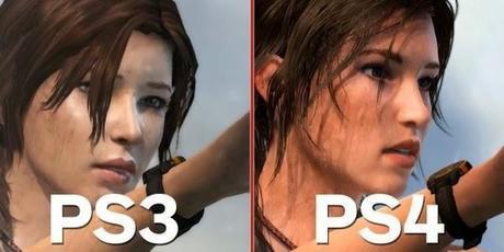 Comparación De Graficos entre PS4 y PS3 Con Tomb Raider
