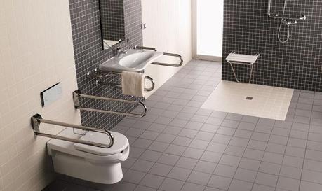 Modernos ba os para discapacitados paperblog for Agarradera para ducha