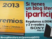 ¡Participo Premios Libros Literatura 2013!