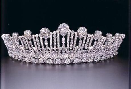 Tiara de la princes Sybilla de Luxemburgo