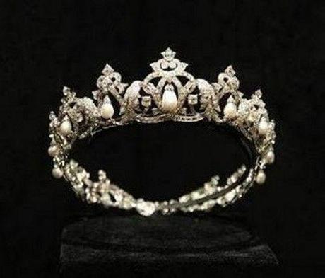 Tiara de los amantes perteneciente a  la Princesa Carlota Grimaldi, realizada por Cartier