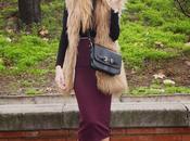 Midi skirt, crop vest