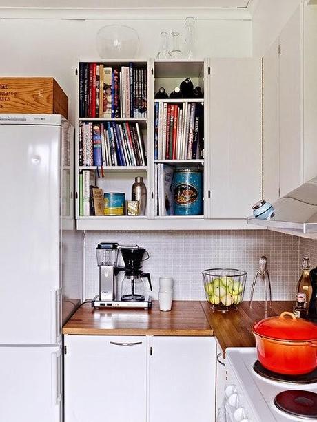 Cocinas peque as con grandes soluciones saca el m ximo partido a tu cocina paperblog - Soluciones cocinas pequenas ...