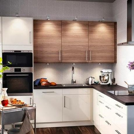 Cocinas peque as con grandes soluciones saca el m ximo - Soluciones cocinas pequenas ...