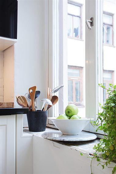 Una gran cocina en un piso de 43 m paperblog - Diseno de interiores pisos pequenos ...