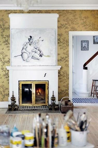 Ideas para decorar chimeneas paperblog - Chimeneas para decorar ...