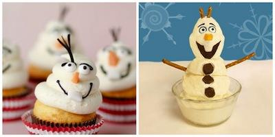 Cupcakes Disney Frozen