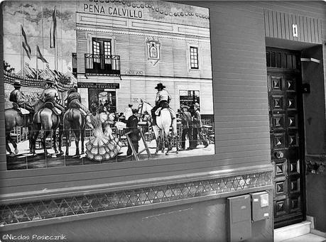 Sevilla en blanco y negro
