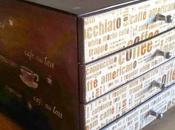 Caja dispensadora para café