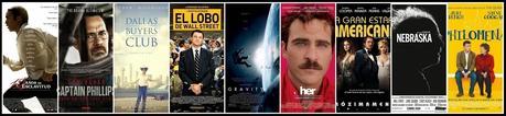 Nominaciones a los Premios Oscar 2014 (Lista Completa)