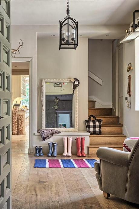 Una casa de estilo american vintage en madrid paperblog - Casas estilo vintage ...