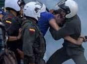 Agredidos periodistas colombianos escuadrones antidisturbios