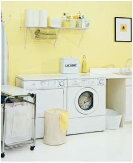 Cuartos de lavado en el ba o paperblog for Bano con lavanderia