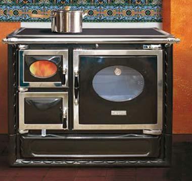 Modernos hornos de le a para tu cocina paperblog - Cocinas con horno de lena ...