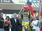 Presidente piñera felicita ignacio casale histórico primer lugar rally dakar 2014