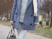 GRIScoat/abrigo: Persun, sweater/jersey: Zara, Pants/Pant...