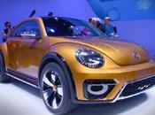 Volkswagen juega arena nuevo Beetle Dune Concept
