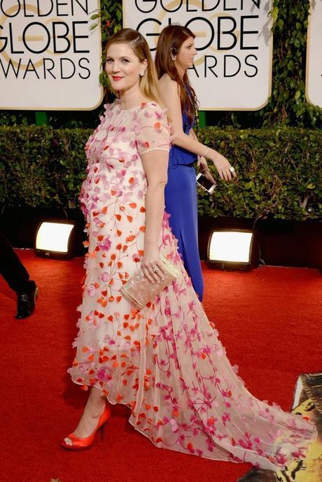 Drew Barrymore Globos de Oro 2014
