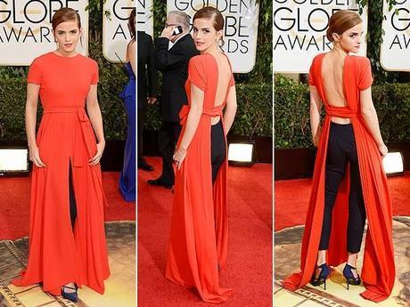 Emily Watson en los Globos de Oro 2014