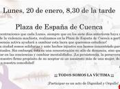 Concentración Cuenca contra violencia género