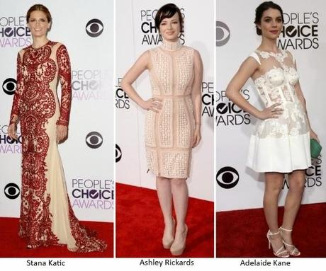 Los estilismos de los People's Choice Awards 2014 (II)