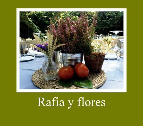 Centros de mesa con flores naturales paperblog for Centros de mesa con plantas naturales