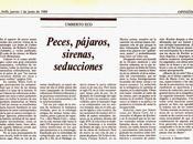 HEMEROTECA: reseñas Umberto (1989)