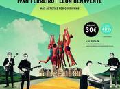 Santander Music Festival 2014: Sidonie, Love Lesbian, Iván Ferreiro León Benavente