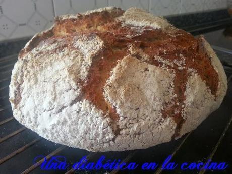 Pan casero con harina integral de trigo y sus raciones de - Harina integral de trigo ...