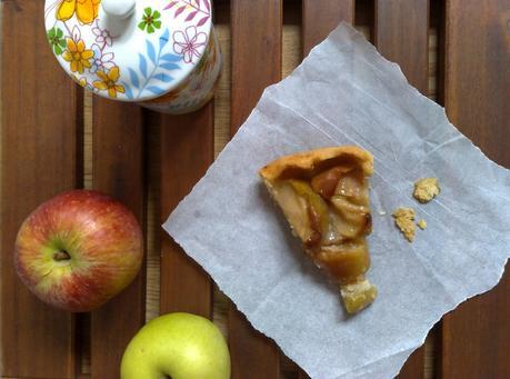 tarta campestre de manzanas