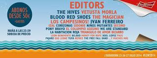 Low Festival 2014: Vetusta Morla, Blood Red Shoes, El Columpio Asesino, We Are Standard, La Habitación Roja...