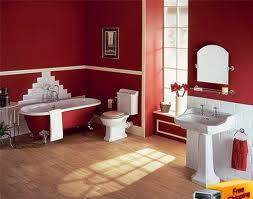 red white bathroom ideas 11 hermosos ba 241 os en color rojo paperblog 20133