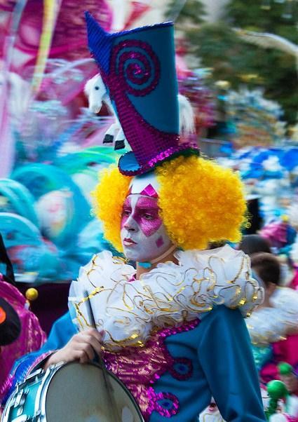 Participante del Carnaval de Tenerife
