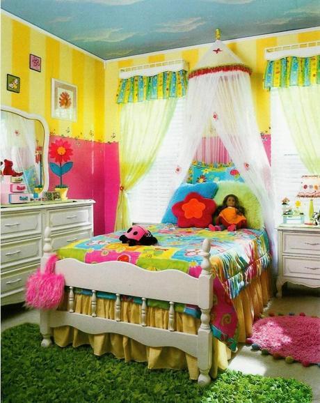 dormitorio de colores para niño