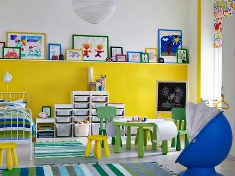 dormitorio infantil de colores