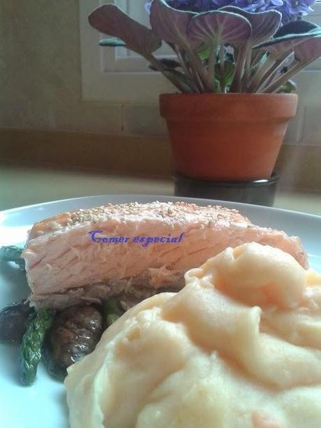 Puré de patata con zanahoria: apto para alérgicos a la lactosa