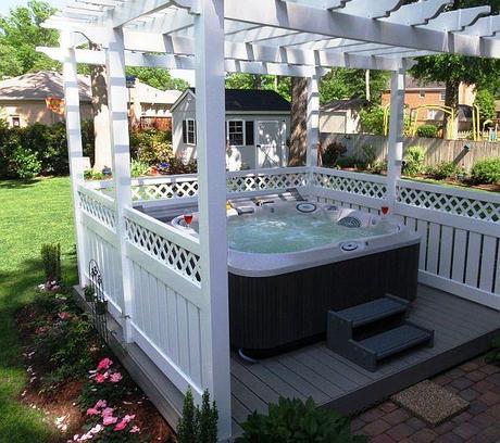 lindos jacuzzis para tu jardn o terraza
