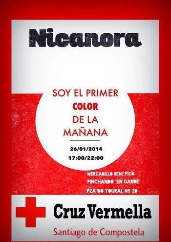 Planes para el fin de semana: Nicanora & Mercadillo Solidario en favor de la Cruz Roja