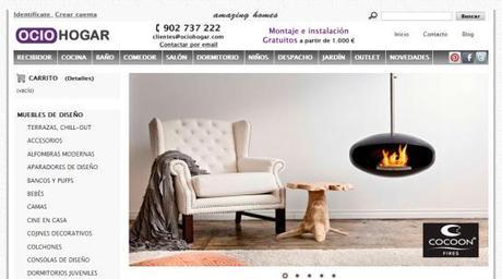 Ociohogar tienda de muebles y l mparas online paperblog for Portico muebles catalogo online