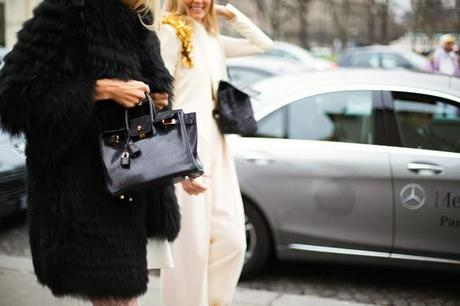 The bags and Paris street style