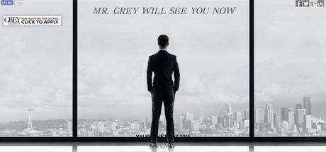 primer poster de fifty shades of Grey!!!!
