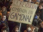 """revolución comienza Gamonal: """"Nos robaron hasta miedo""""."""